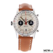 Breitling Chronomat pre-owned 41mm White Leather