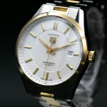TAG Heuer Carrera Calibre 5 Gold/Steel 39mm Silver No numerals United States of America, New Jersey, Long Branch