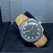 Panerai Otel Armare manuala Negru 47mm nou Radiomir 3 Days 47mm