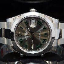 Rolex Datejust Steel 41mm Green No numerals United Kingdom, Essex