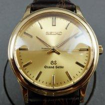 Seiko Grand Seiko Zuto zlato 34,5mm Zlatan Bez brojeva