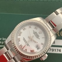 Rolex Lady-Datejust Otel 26mm Alb