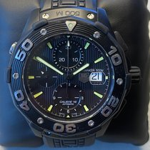 泰格豪雅 Aquaracer 500M 鈦 44mm 黑色 無數字