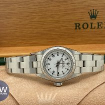 Rolex Oyster Perpetual 26 usados Negro Acero