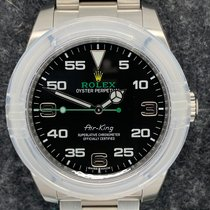 Rolex Air King Steel Black