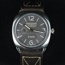 Panerai Radiomir Black Seal Platine 45mm Gris Arabes France, Paris