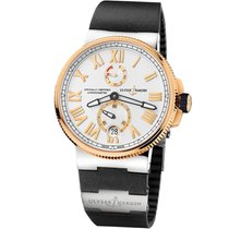 Ulysse Nardin Gold/Steel 45mm Automatic 1185-122-3T/41 V2 new