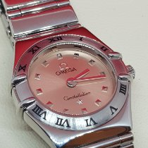 Omega Constellation Quartz Acier Orange