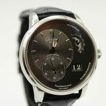 Glashütte Original PanoMaticLunar Steel 40mm Grey United States of America, Texas, Houston