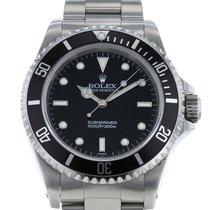 Rolex Submariner (No Date) Steel 40mm Black Arabic numerals