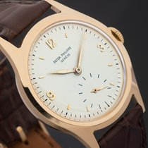 Patek Philippe 565 Yellow gold 1950 Calatrava 35mm pre-owned