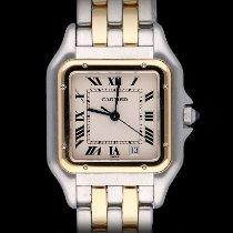 Cartier Χρυσός / Ατσάλι 27mm Χαλαζίας 183949 μεταχειρισμένο