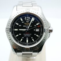 Breitling Colt Automatic Acero 44mm Negro Sin cifras