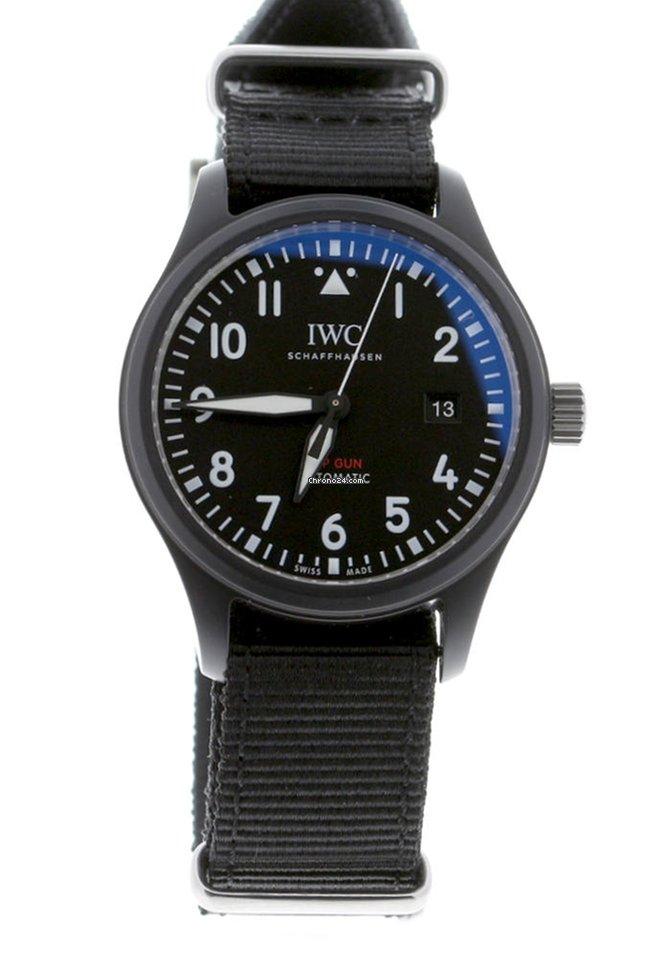 IWC Pilot Chronograph Top Gun IW326901 new