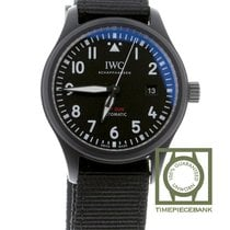 IWC Pilot Chronograph Top Gun Céramique 41mm Noir Arabes