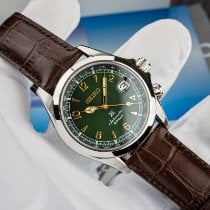 Seiko Steel Automatic Green Arabic numerals 39.5mm new Prospex