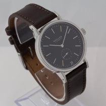 NOMOS Tangente pre-owned 36.5mm Black Leather