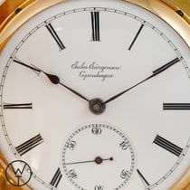 Jules Jürgensen Red gold 44mm Manual winding pre-owned