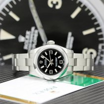Rolex Oyster Perpetual 26 usados 26mm Negro Acero