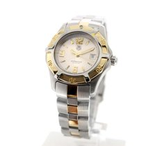 TAG Heuer 2000 Gold/Steel 28mm Silver Arabic numerals