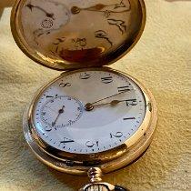 유니온 글라슈테 핑크골드 52mm 수동감기 중고시계