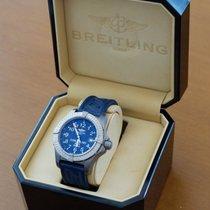 Breitling Avenger Seawolf nuevo 2005 Automático Reloj con estuche y documentos originales E17370
