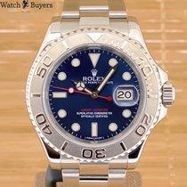 Rolex Yacht-Master 40 Zeljezo 40mm Plav-modar Bez brojeva