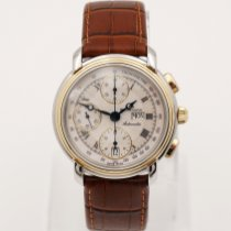 Maurice Lacroix Gold/Steel 38mm Automatic 67413 pre-owned