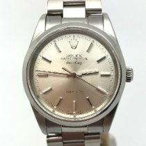 Rolex Air King Precision Steel 34mm Silver No numerals United Kingdom, Leicester