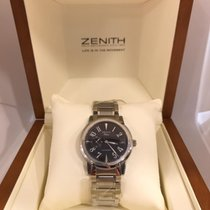 Zenith Steel Automatic Black Arabic numerals 37mm new Port Royal