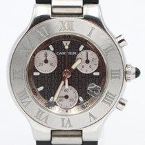 Cartier 21 Chronoscaph 2424 pre-owned