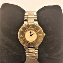 Cartier 21 Must de Cartier Gold/Steel 28mm White Roman numerals United States of America, Oregon, 97524
