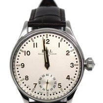 Ball Steel Manual winding Silver 44mm pre-owned Trainmaster Cleveland Express