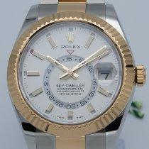 Rolex Sky-Dweller Gold/Steel 42mm White No numerals United States of America, Georgia, ATLANTA