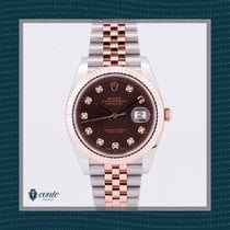 Rolex Datejust II Or/Acier 41mm Brun
