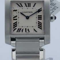 Cartier Tank Française Steel 25mm White Roman numerals United States of America, Georgia, ATLANTA