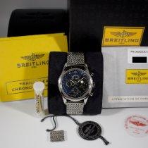 Breitling Transocean Chronograph 1461 Acier 43mm Noir Sans chiffres
