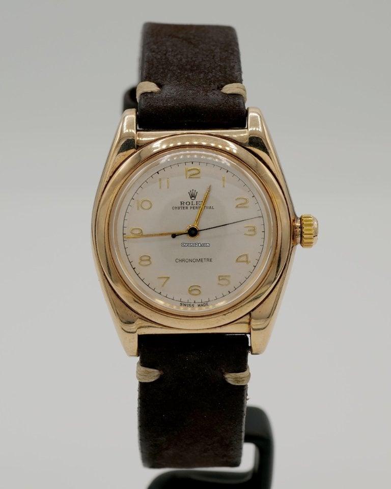 Rolex Bubble Back 3131 pre-owned