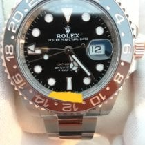 Rolex GMT-Master II Gold/Steel 40mm Black No numerals United States of America, Connecticut, NORWICH