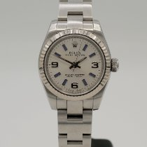 Rolex Oyster Perpetual 26 Steel 26mm Silver Arabic numerals United States of America, California, Marina Del Rey