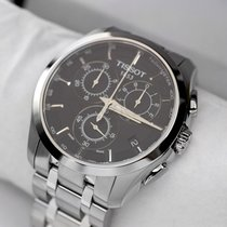 Tissot Couturier new Quartz Chronograph Watch with original box and original papers T0356171105100