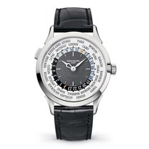 Patek Philippe World Time White gold 38.5mm Grey Arabic numerals United States of America, Iowa, Des Moines