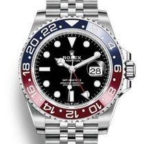 勞力士 GMT-Master II 新的 2020 自動發條 附正版包裝盒和原版文件的手錶 126710BLRO