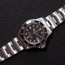 Rolex Submariner Date Staal 40mm Rood Geen cijfers