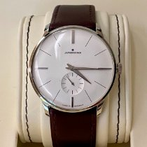 Junghans Meister Hand-winding pre-owned 37.7mm Leather