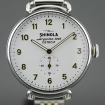 Shinola Steel 36mm Quartz S01 200 04496 new