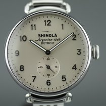 Shinola Steel 36mm Quartz S01 200 04466 new