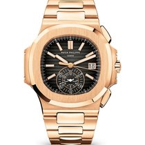 Patek Philippe Nautilus Rose gold 40.5mm Black No numerals United States of America, Iowa, Des Moines