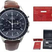 Omega Speedmaster Professional Moonwatch Ατσάλι 39.7mm Μαύρο