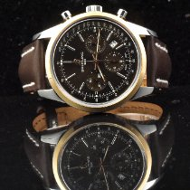 Breitling Transocean Chronograph Gold/Stahl 43mm Bronze
